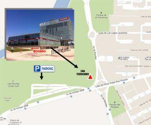 Avenida José Atarés 101, (Casa de federaciones deportivas)