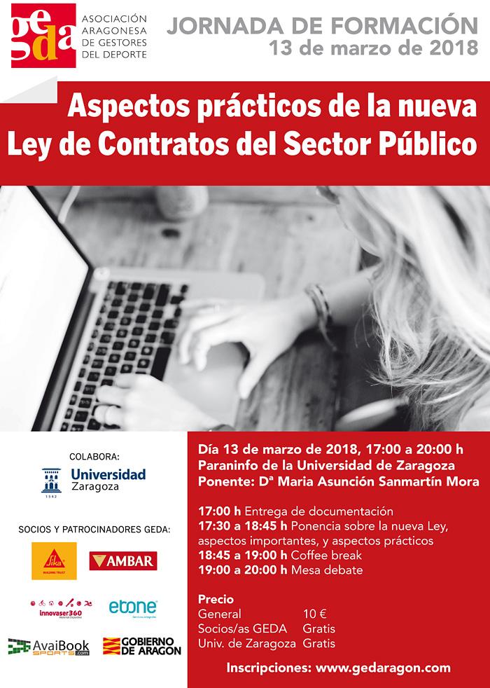 Jornada de Formación: Aspectos prácticos de la nueva Ley de Contratos del Sector Público