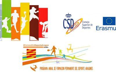 Jornada Programa Erasmus+Deporte el 24 de mayo en Zaragoza