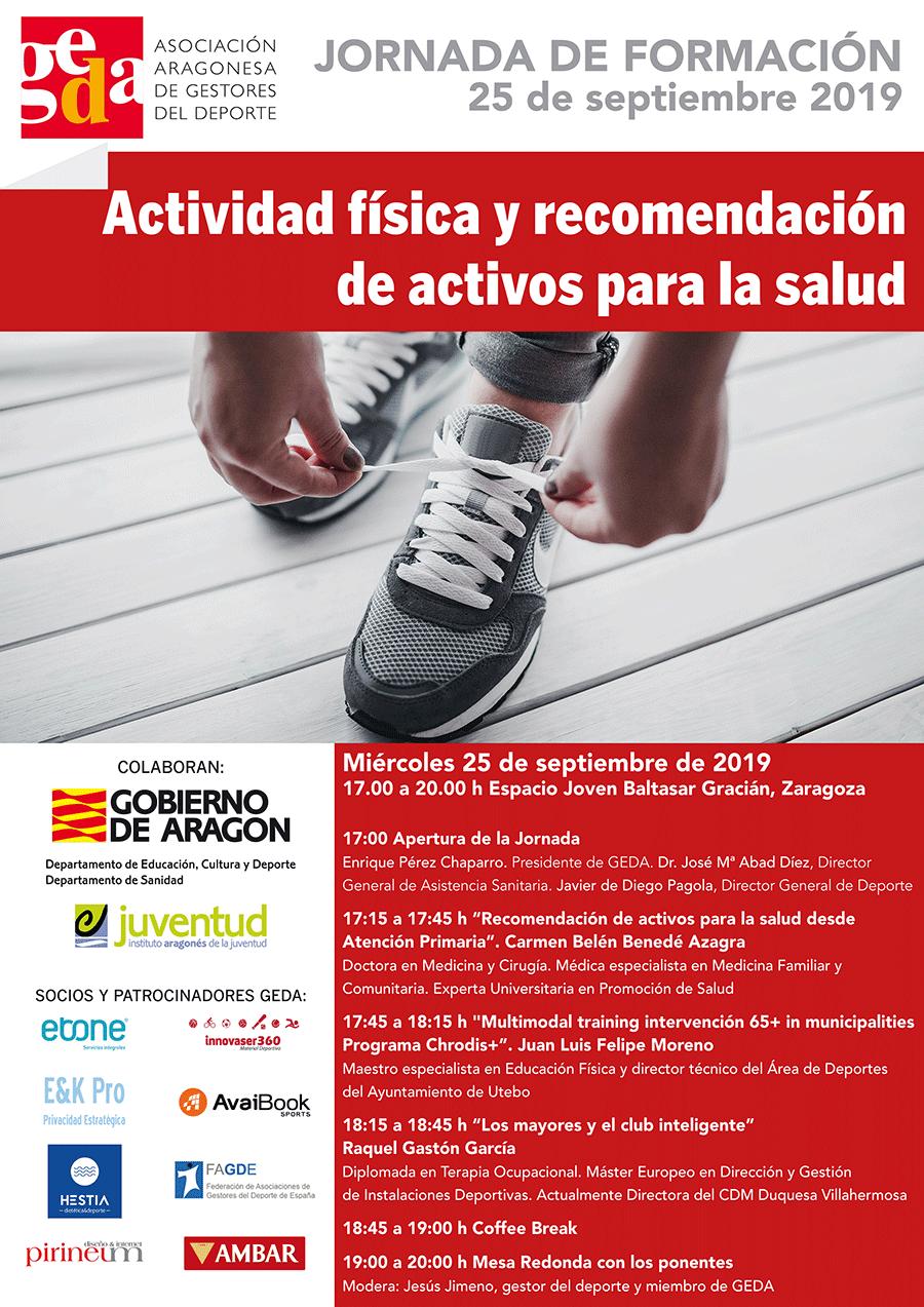Actividad física y recomendación de activos para la salud