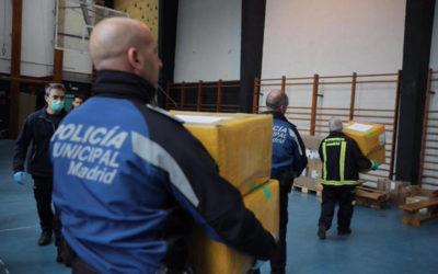 Ingesport realiza una donación de 20 respiradores al hospital campaña de IFEMA