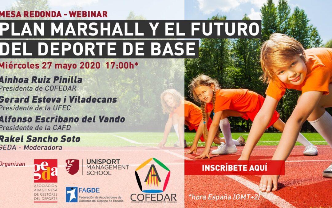 """Seminario web """"Plan Marshall y el futuro del deporte de base"""""""