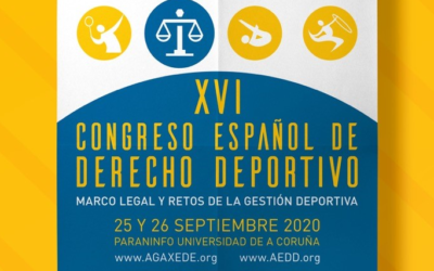 Inscripciones abiertas para el Congreso español de Derecho Deportivo