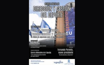 El Plan de Recuperación del Gobierno, portada de la revista de FAGDE