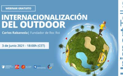 Webinar sobre «Internacionalización del outdoor» de Unisport Talks