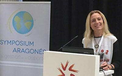 Rakel Sancho es la nueva presidenta de la Asociación Aragonesa de Gestores del Deporte